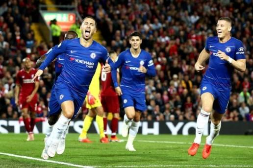 Eden Hazard tỏa sáng