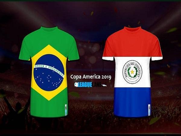 Nhận định Brazil vs Paraguay, 7h30 ngày 28/06