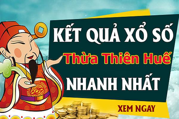 Soi cầu XS Thừa Thiên Huế chính xác thứ 2 ngày 1/7/2019