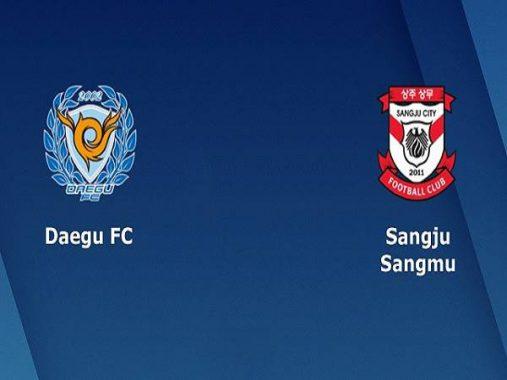 Nhận định Daegu vs Sangju Sangmu 17h30, 29/5 (VĐQG Hàn Quốc)