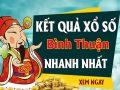 Dự đoán kết quả XS Bình Thuận Vip ngày 13/08/2020