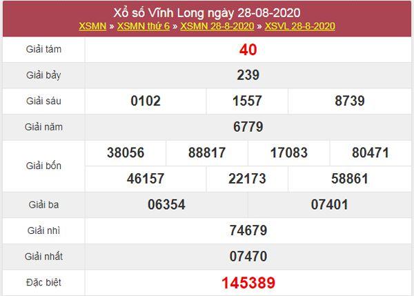 Dự đoán XSVL 4/9/2020 chốt lô KQXS Vĩnh Long thứ 6