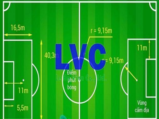 Kích thước sân bóng 11 người theo chuẩn FIFA