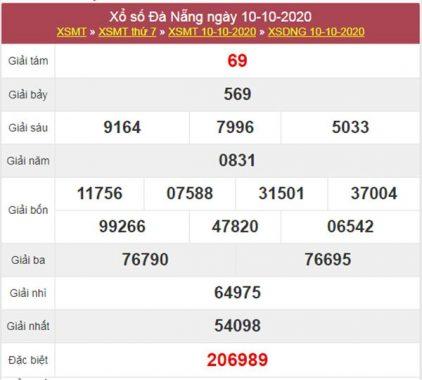 Dự đoán XSDNG 14/10/2020 chốt KQXS Đà Nẵng thứ 4