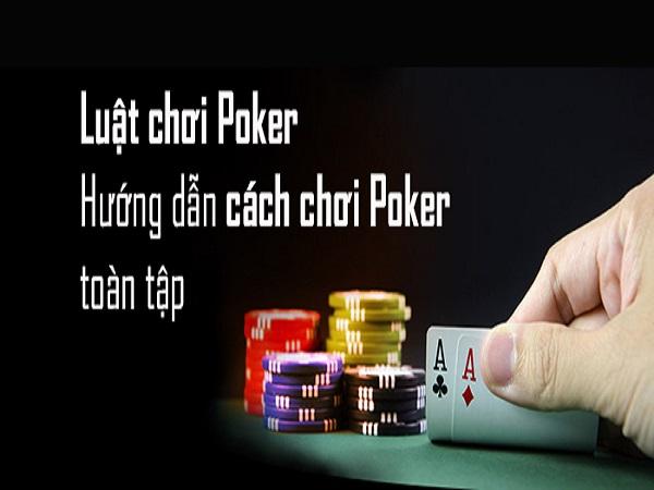 Cách chơi Poker theo đúng trình tự ván bài