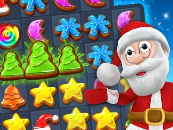 Game giáng sinh Christmas Cookie