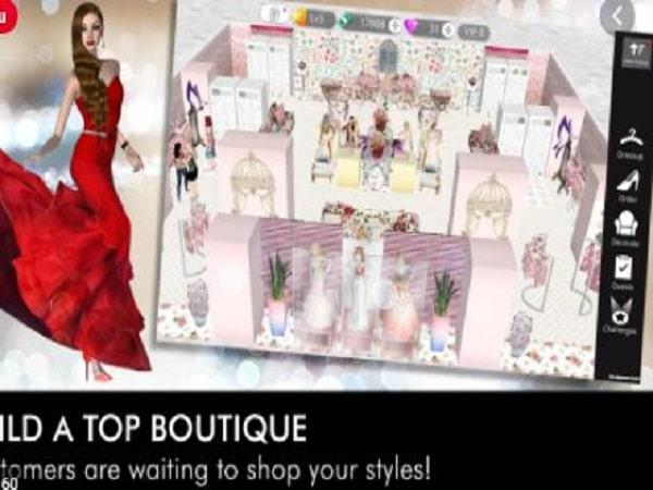 game thời trang Fashion Empire - Dressup Boutique sim