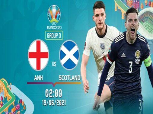 Nhận định Anh vs Scotland, 02h00 ngày 19/6 VCK Euro
