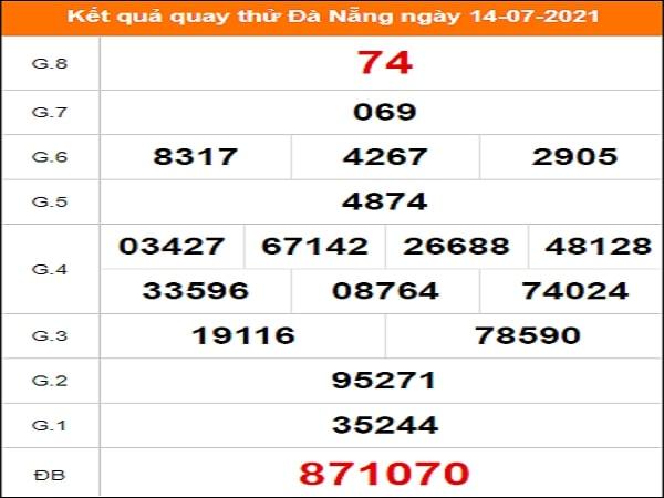 Quay thử Đà Nẵng ngày 14/7/2021 thứ 4